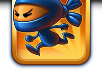 Ninja Pong for iPhone, iPod and iPad